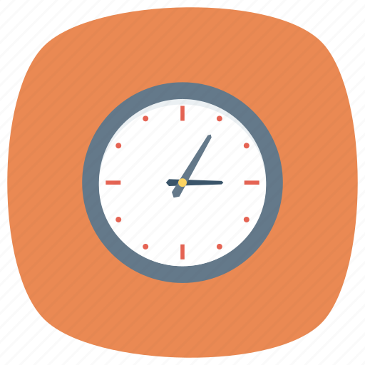 alarm, clock, time, timer, wall, wallclock, watch icon