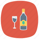 alcohol, beer, bottle, drink, glass, wine, winetasting icon