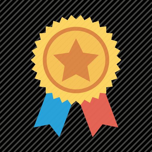 army, award, badge, medal, military, pinbadge, ribbon icon