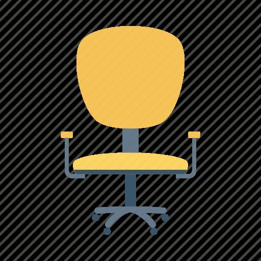 armchair, chair, furniture, interior, office, officechair, seat icon