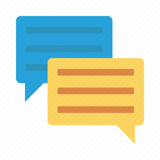 chat, communication, connect, interaction, interface, message, talking icon