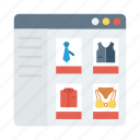 commerce, commercewebsite, ecommerce, online, onlineshopping, shop, shopping icon