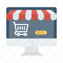 buyonline, ecommerce, online, shop, shopping, store, web icon