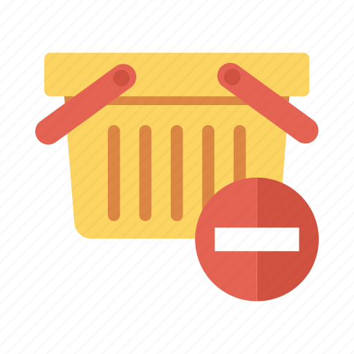 basket, delete, ecommerce, remove, shop, shopping, shoppingbasket icon