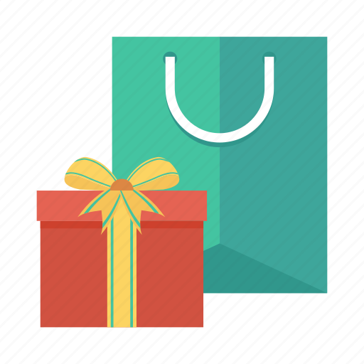 cart, ecommerce, gift, present, shop, shopping, shoppingbag icon