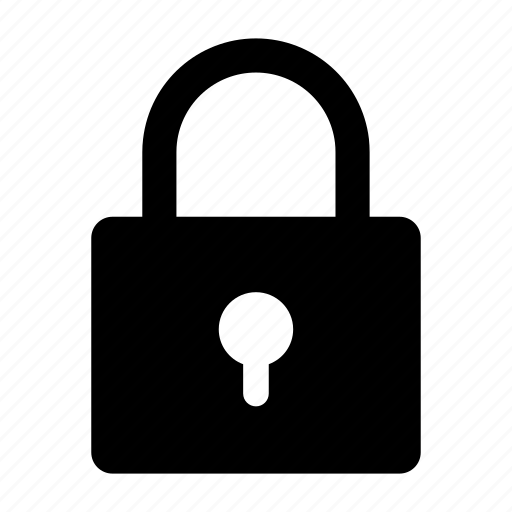 key, padlock, private, protection, secure icon