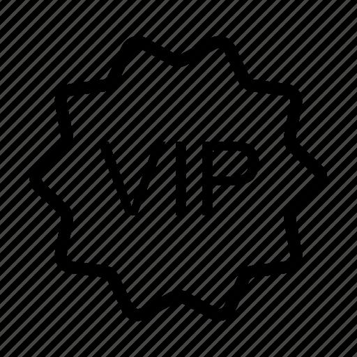 badge, label, sticker, tag, vip icon