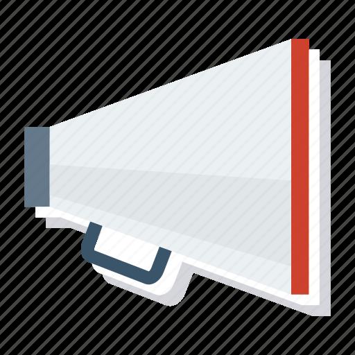 Advertising, announcement, bullhorn, businessannouncement, loud, megaphone, speaker icon - Download on Iconfinder