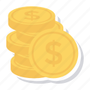 cash, coins, currency, finance, goldcoins, money, uscoins
