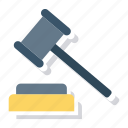 court, justice, tool, gavel, police, law, hammer