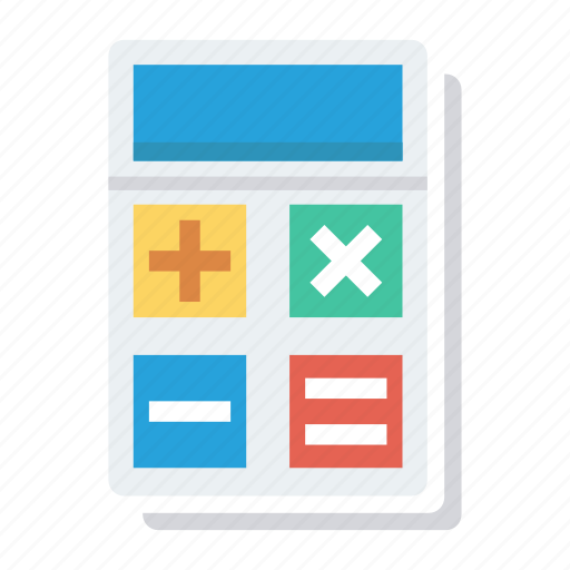 accounting, calculate, calculation, calculator, finance, math, numbers icon