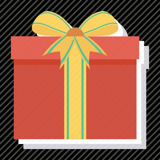 box, christmas, gift, giftbox, present, ribbon, xmas icon
