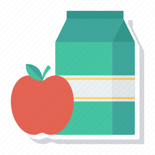 apple, juice, milk, packing, product, productpackaging, services icon