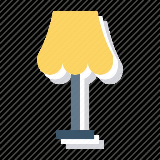 Bulb, desk, floorlamp, furniture, lamp, light, table icon - Download on Iconfinder