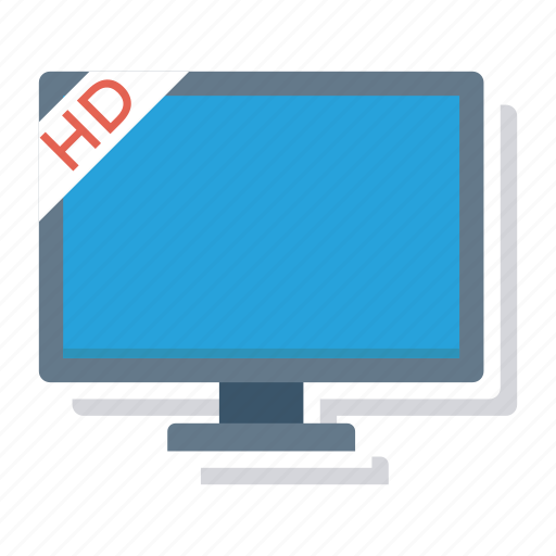 display, media, monitor, screen, television, tv, tvmonitor icon