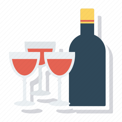 Alcohol, beer, bottle, drink, glass, redwine, wine icon - Download on Iconfinder