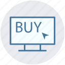 arrow, buy arrow, click, lcd, lcd screen, sale icon
