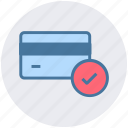 atm card, card, check, credit, credit card, debit card icon