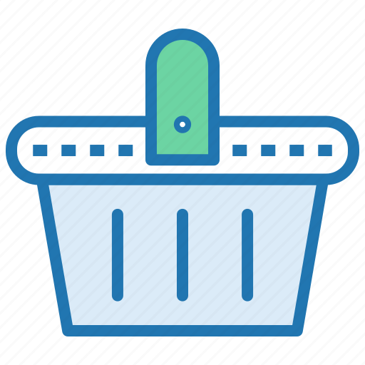 checkout, ecommerce, grocery, retail, shop, shopping basket icon