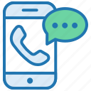 call support, chat, communication, help, message, phone icon