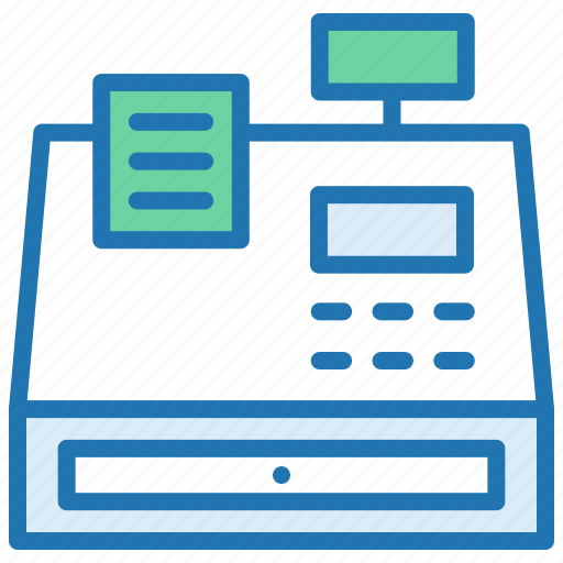 billing, fax, fax machine, office, phone, receipt icon