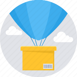 air, box, delivery, package, shipping, transportation, travel icon
