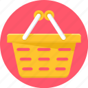 basket, buy, cart, shop, trolley