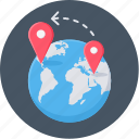 business, delivery, global, market, shipping, store icon
