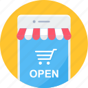 app, buy, ecommerce, mobile, online, shopping, store icon
