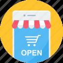 mobile, store, app, buy, ecommerce, online, shopping