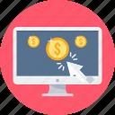 buy, cash, internet, money, ppc, shopping icon