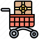 cart, merchandise, product, purchase, shopping icon