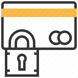 card, credit, finance, payment, protection, secure, security icon