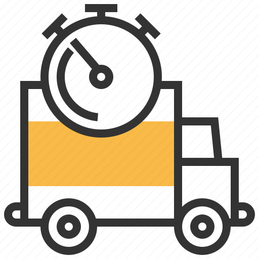 Delivery, fast, transport, transportation, truck icon - Download on Iconfinder