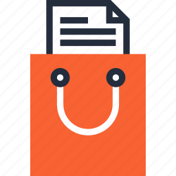 bag, buy, commerce, list, package, retail, shopping icon