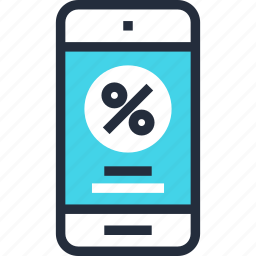commerce, digital, discount, ecommerce, marketing, mobile, shopping icon