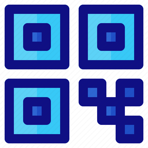 code, ecommerce, qr, retail, shop, shopping icon