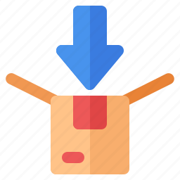 ecommerce, packing, retail, shop, shopping icon