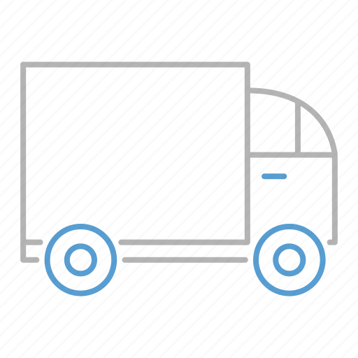 delivery, retail, shopping, transportation, truck icon