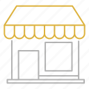 market, retail, shopping, store icon