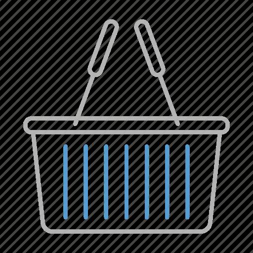 bag, basket, cart, retail, shopping icon