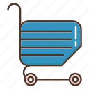 basket, cart, shopping, store icon