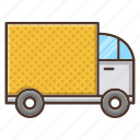 business, delivery, retail, shopping, transportation, truck icon