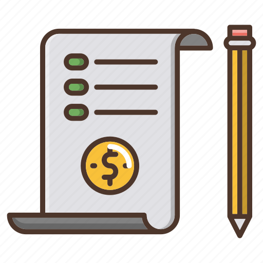 business, document, report, retail, shopping icon