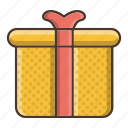birthday, box, business, gift, retail, shopping icon