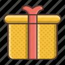 birthday, box, business, gift, retail, shopping icon