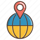 business, location, retail, shopping, travel icon