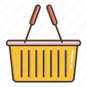 basket, business, cart, retail, shopping