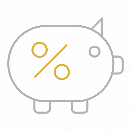 bank, banking, finance, piggy, savings icon