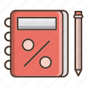 business, note, notebook, reminder, shopping icon